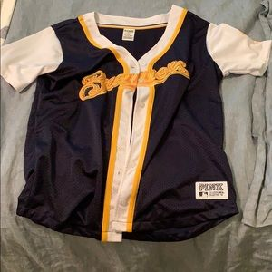 PINK brewers jersey